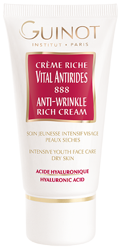 Crème RICHE Vital Anti-Rides 888 Guinot - Institut Art Of Beauty