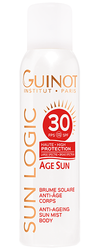 SPF30 Brume Solaire Corps ANTI-AGE Guinot - Institut Art Of Beauty