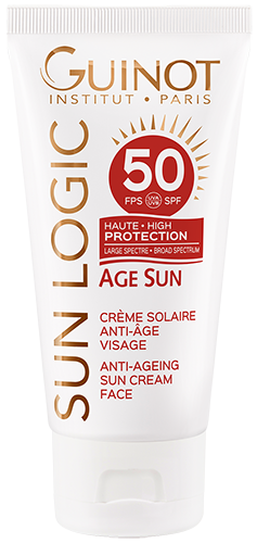 SPF50 Creme Solaire Visage ANTI-AGE Guinot - Institut Art Of Beauty
