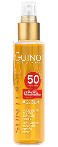 SPF50 Huile Seche SOLAIRE Guinot - Institut Art Of Beauty